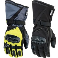 Moose ADV1 Long Cuff Textile Pair Motorcycle Riding Street Racing Gloves