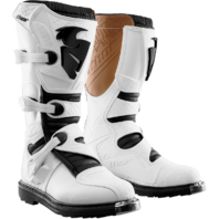 Mens Thor MX White S4 Blitz Textile Motorcycle Riding Off road Pro Racing Boots