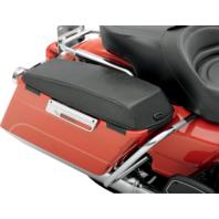 Saddlemen pair black saddlebag chaps lid protectors 93-13 Harley FLHT FLTR FLHX