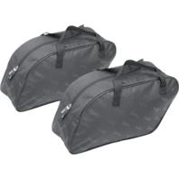 Saddlemen pair black textile saddlebag small universal liners Touring