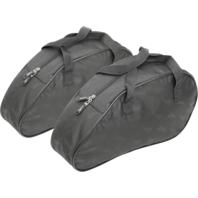 Saddlemen pair black textile saddlebag small teardrop universal liners Touring