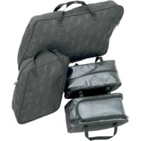 Saddlemen black four-piece saddlebag liner bags 93-13 Harley Touring FLHT FLHR