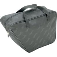 Saddlemen black textile saddlebag liner use with reda gas can Harley Touring