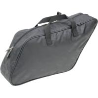 1 Saddlemen black large saddlebag liner bag 12-16 Harley FLD Dyna Switchback