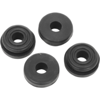 Drag specialties 4 pack saddlebag rubber grommets for 93-13 Harley touring FLHX