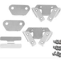 Drag specialties saddlebag hard lid clip kit for harley touring