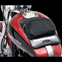 Saddlemen Black Textile Universal Motorcycle Gas Tank Map Pouch Harley Davidson
