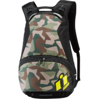 Icon Textile Stronghold Camo Block Style Motorcycle Backpack Harley