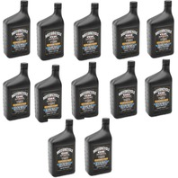 Drag Specialties 12qt Regular Base Case 20W50 Universal Motorcycle Engine Oil
