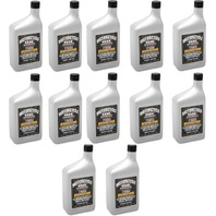 Drag Specialties 12qt Synthetic Base Case 20W50 Universal Motorcycle Engine Oil