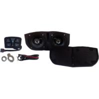 Metrix Memphis Shades Batwing Fairing Bluetooth Speaker Kit Pod Harley Davidson