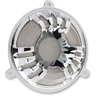 Arlen Ness Chrome Front Fairing Speaker Grills 14-18 Harley Touring FLHX FLHTCU