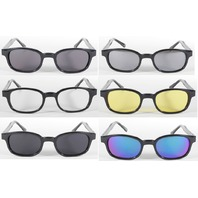 KD's 12 Pairs Sunglasses you pick the colors Harley old skool biker glasses