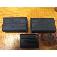 set of 3 Vintage Rerpo Indian clutch brake shift pedal pad