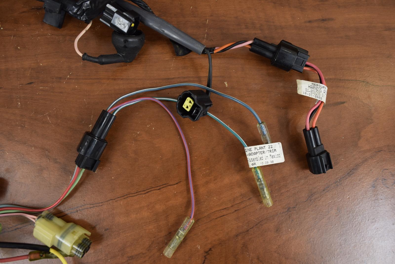 mercury   mariner wiring harness 804290 3 2000 2005 75 90 hp ebay Painless Wiring Harness Ford Wiring Harness Kits