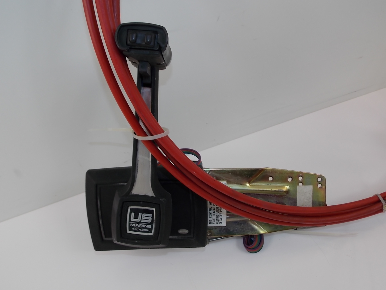force chrysler u s  marine control box with 13 foot cables