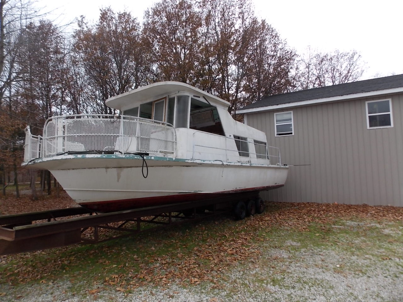 Ebay house boats 28 images 1960s explorer houseboat for The motor company marinette