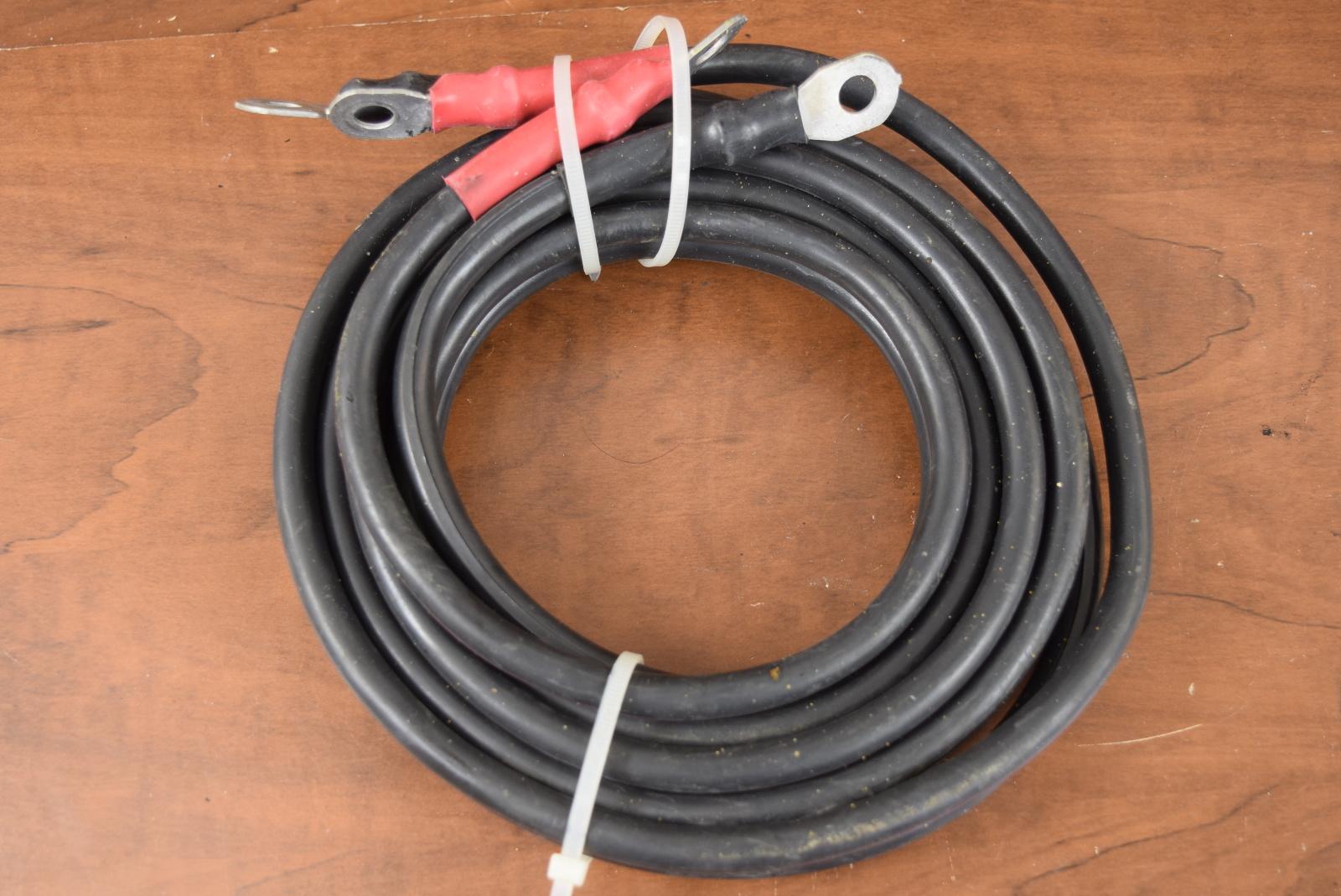 Mercury Johnson Evinrude Suzuki Yamaha Outboard Battery Cables 7 Ft Ebay