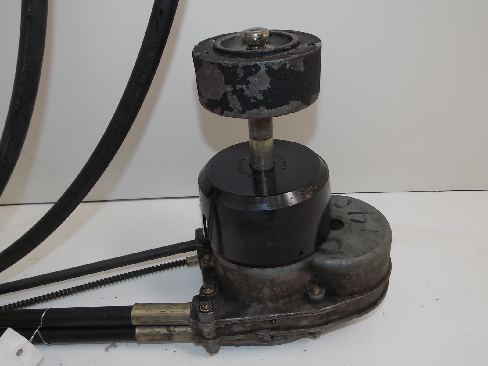 Morse Teleflex Steering Helm And Wheel Dual Cable 14