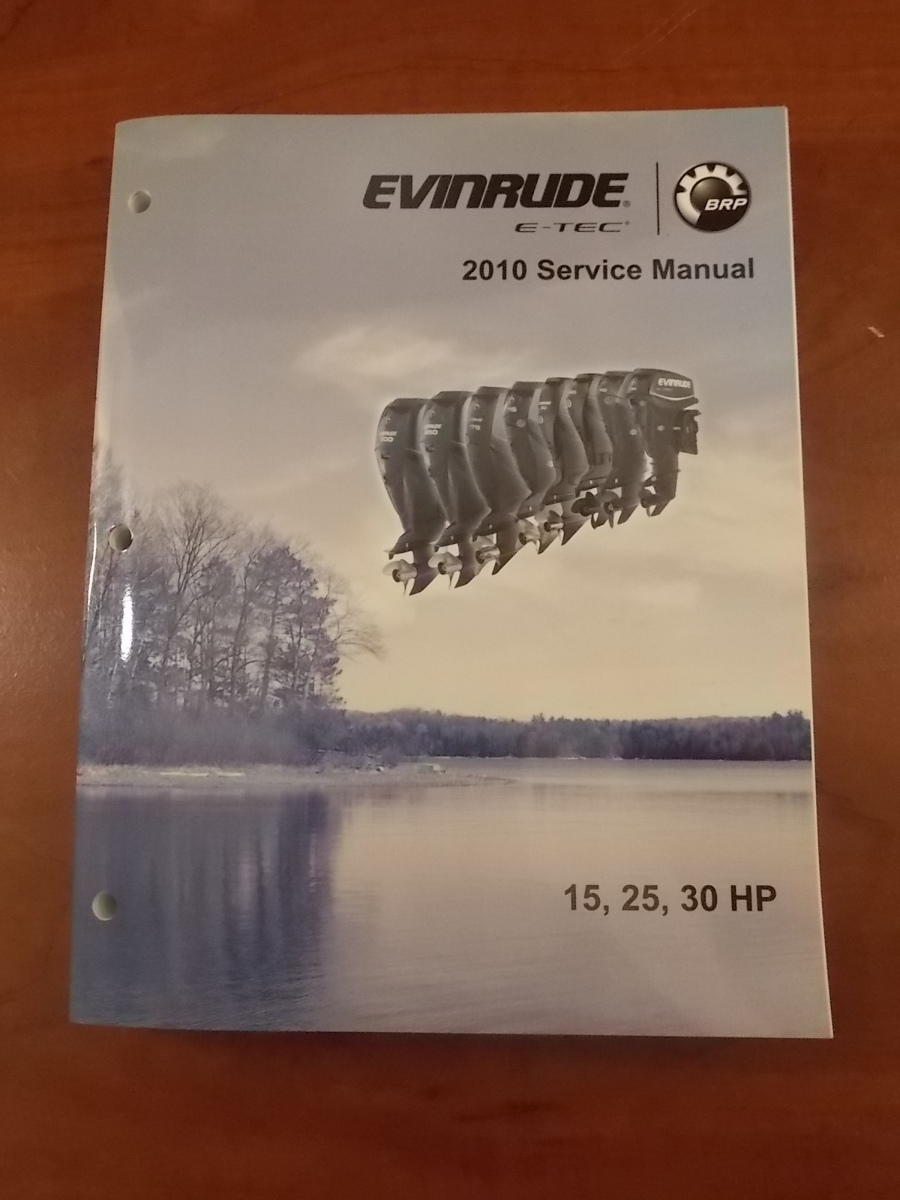 evinrude etec 2010 shop service manual 15 25 30hp 5008146 Evinrude Motor Years Evinrude E-TEC Logo