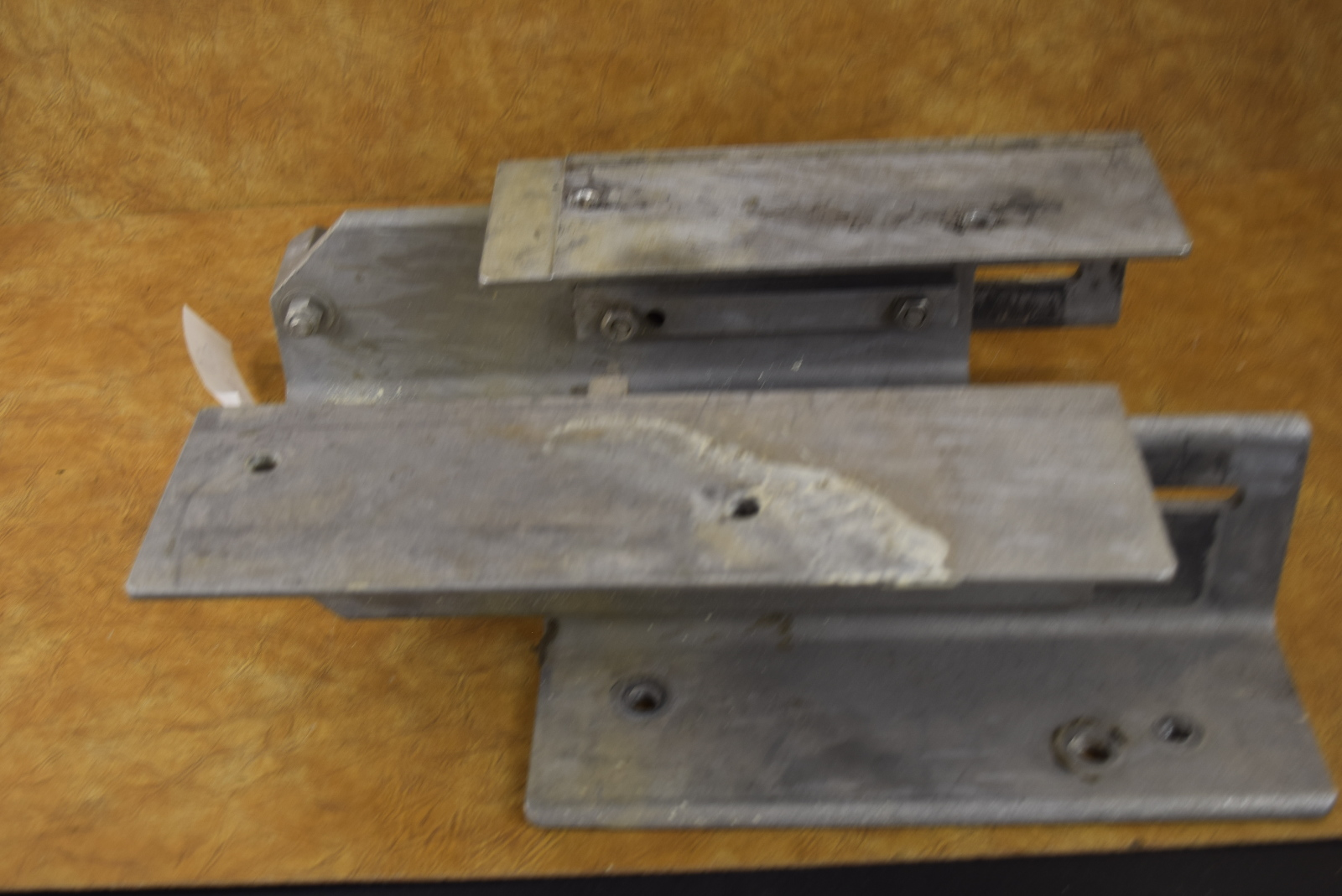 Universal Manual Jack Plate Set Transom Support For