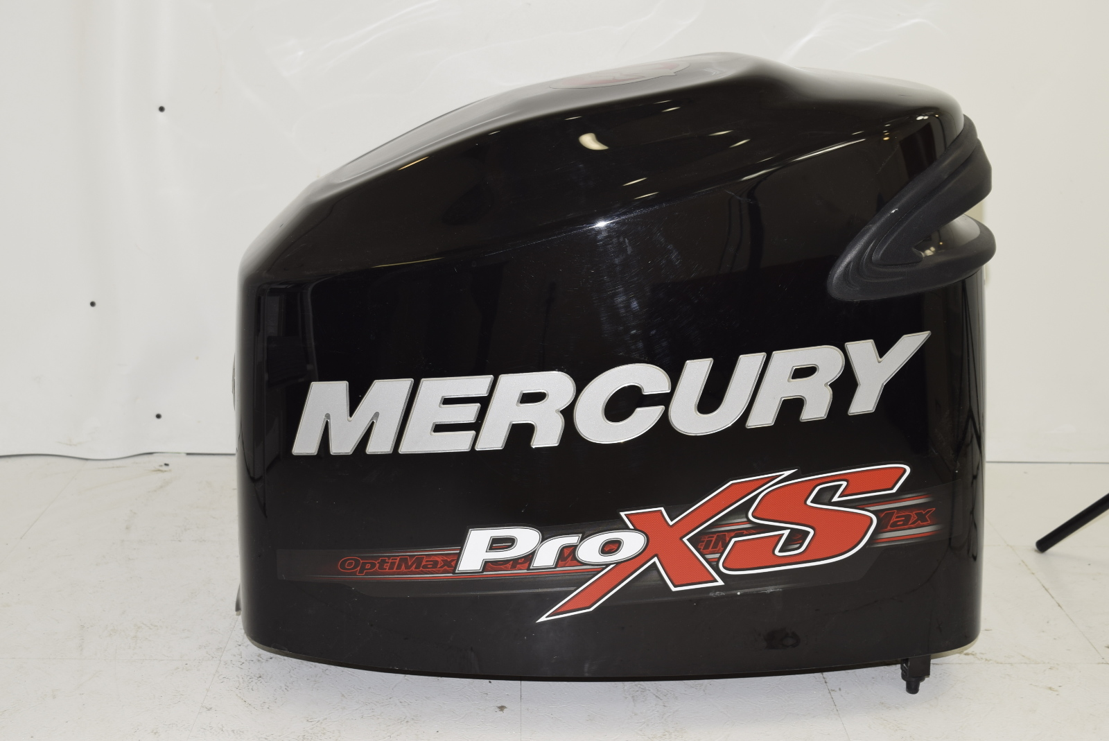 Mercury hood cowling engine cover 135 150 175 optimax pro for Mercury outboard motor cowling
