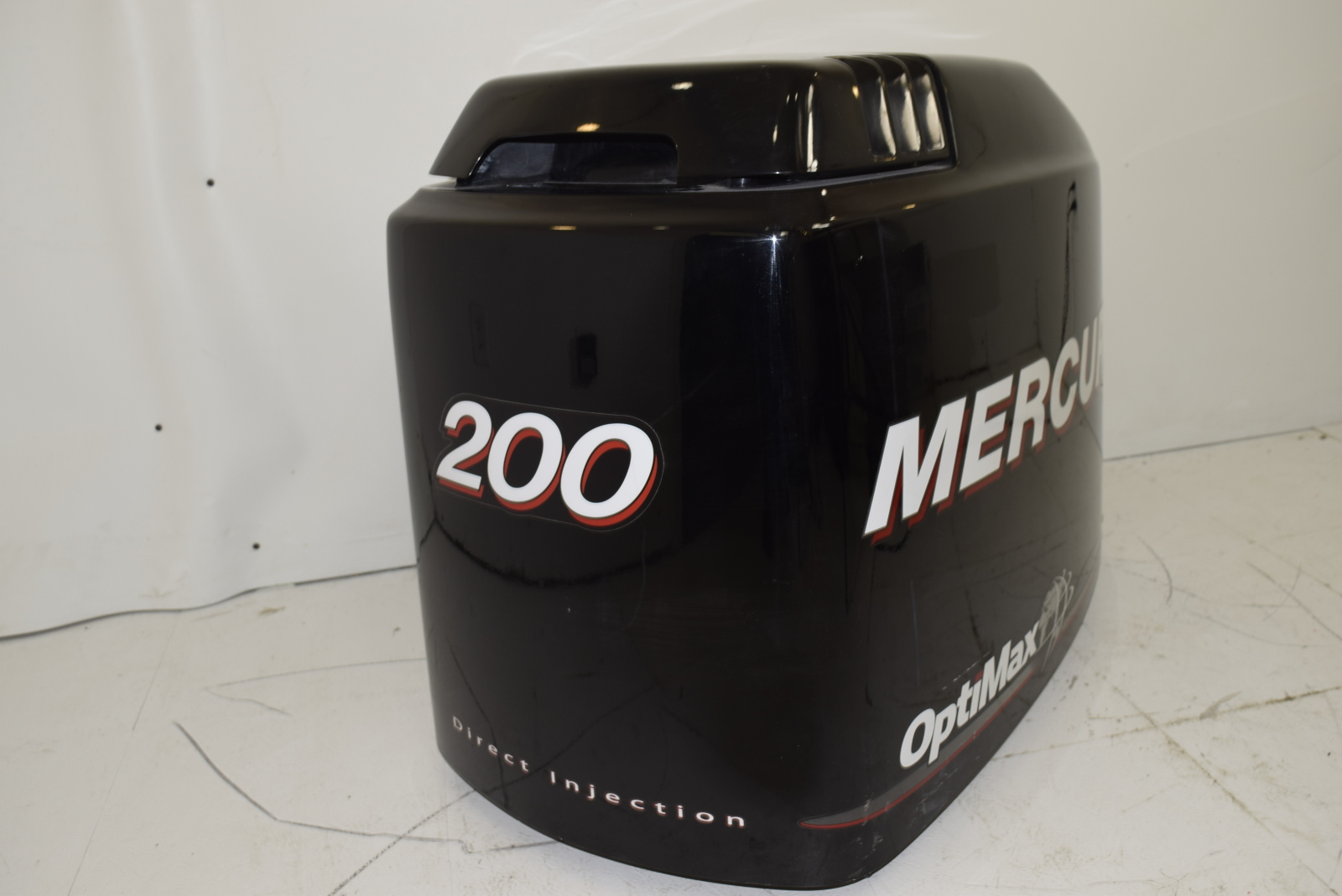 Mercury optimax dfi hood cowl cowling cover late 90s 200 hp for Mercury outboard motor cowling