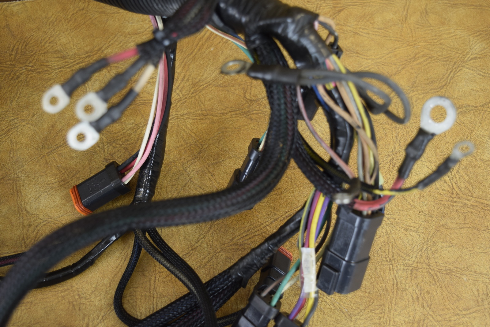 1972 mustang wiring harness omc 1972 225 wiring harness oem! 1999 evinrude motor cable wiring harness 586309 ... #14