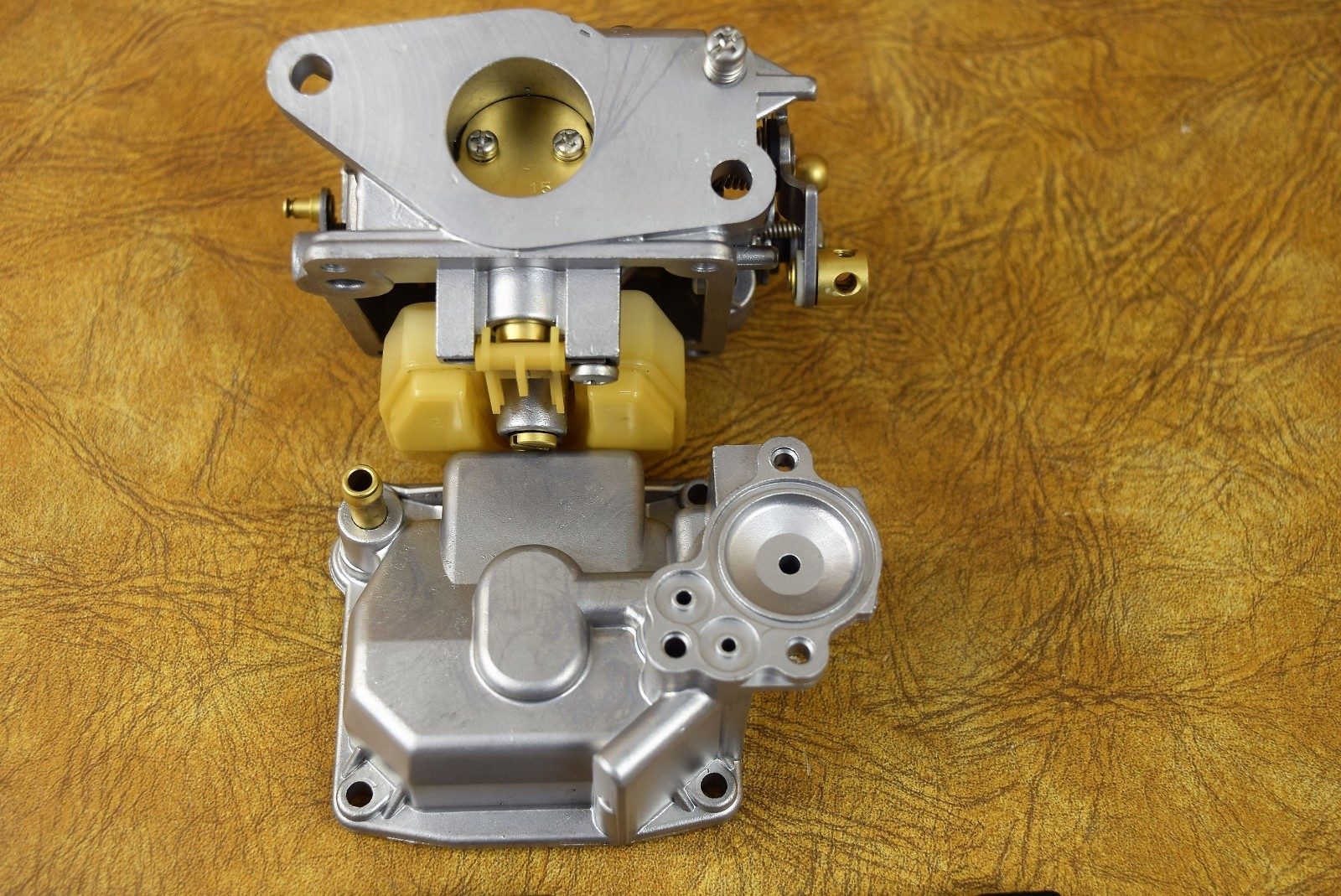 Refurbished 2000 Mercury Mariner Carburetor Assembly C Www Diagram Of 20 Carb2cyl4stroke Outboard 0r235168 Up Top Clean 66l51