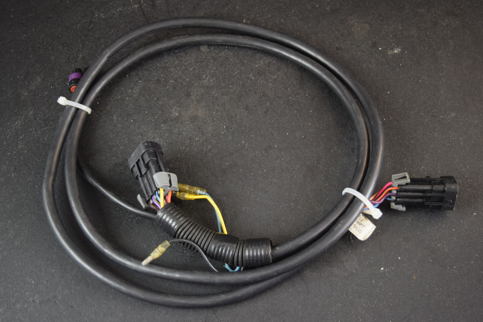 Color The Tach Sending Wire Is See Picture Of Wiring Harness Anyone