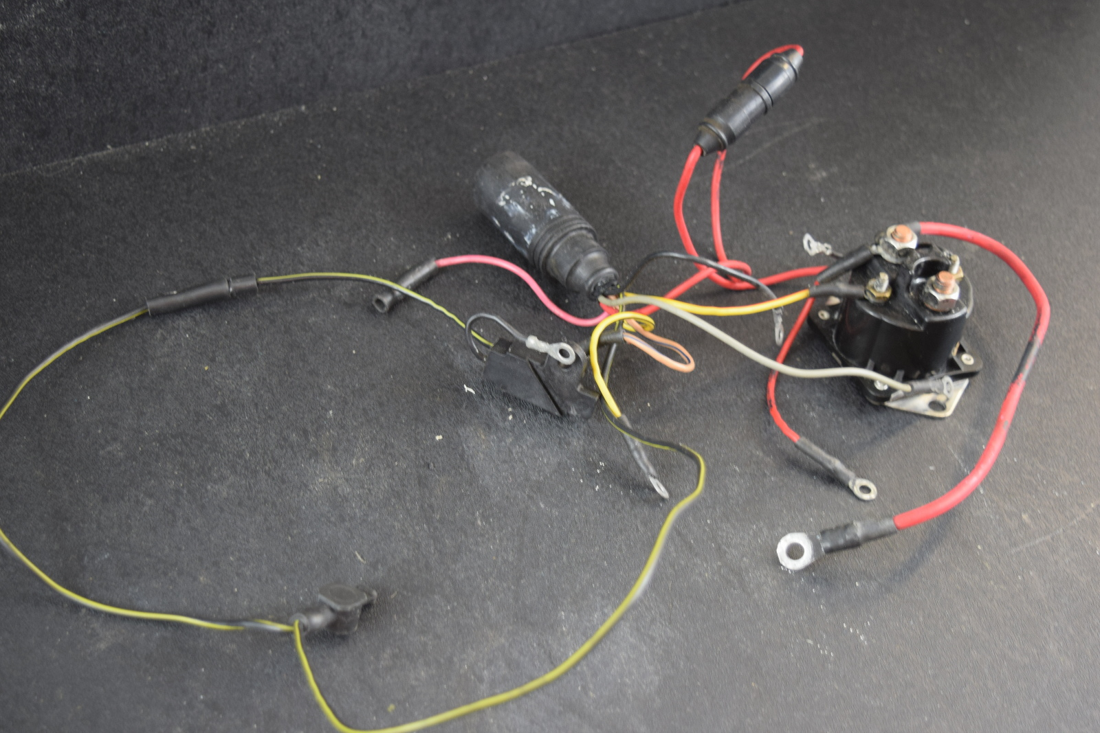 1988 93 mercury wiring harness starter solenoid 43443a3. Black Bedroom Furniture Sets. Home Design Ideas