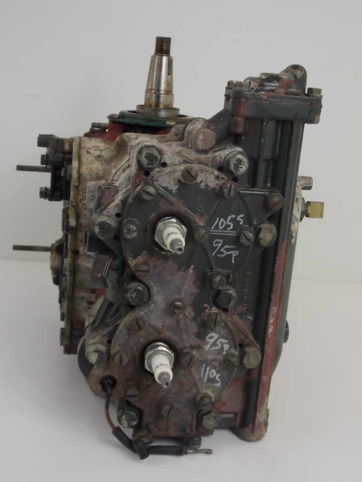Johnson Evinrude Powerhead 1965 1970 40 Hp 384445 380253