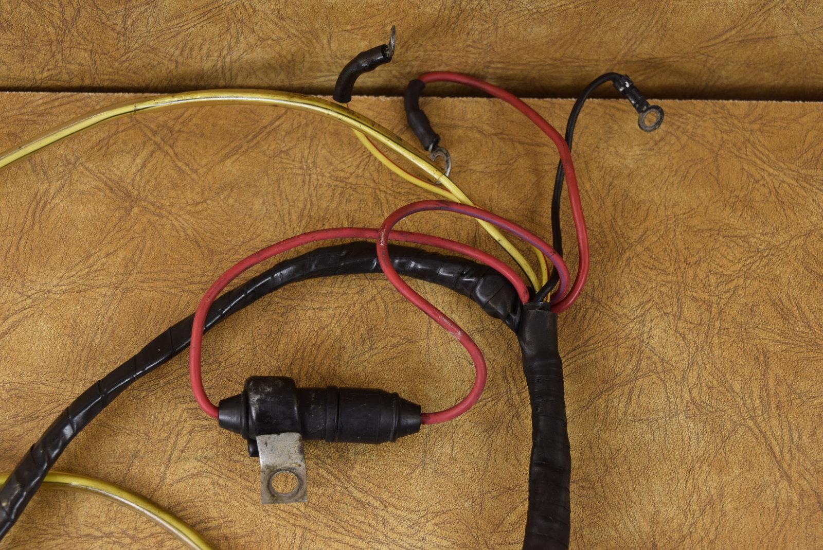 Mercury  U0026 Mariner Wiring Harness 96233a2 89915a1 1979