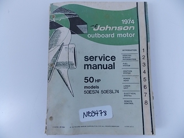 1975 Evinrude 6hp Service Manual