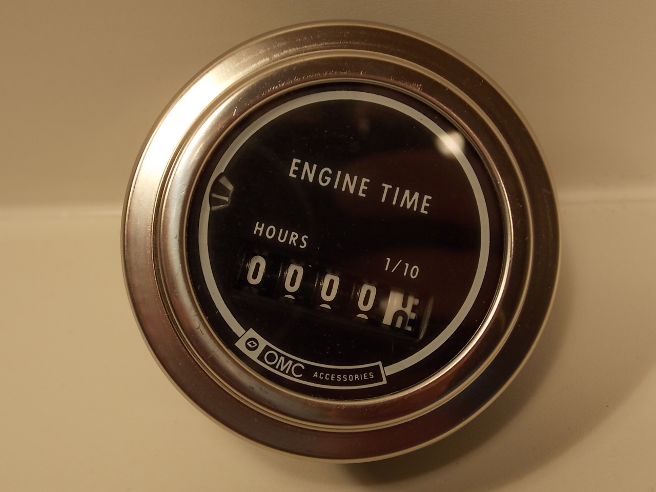 Vintage Hour Meter : New johnson evinrude omc vintage hour meter