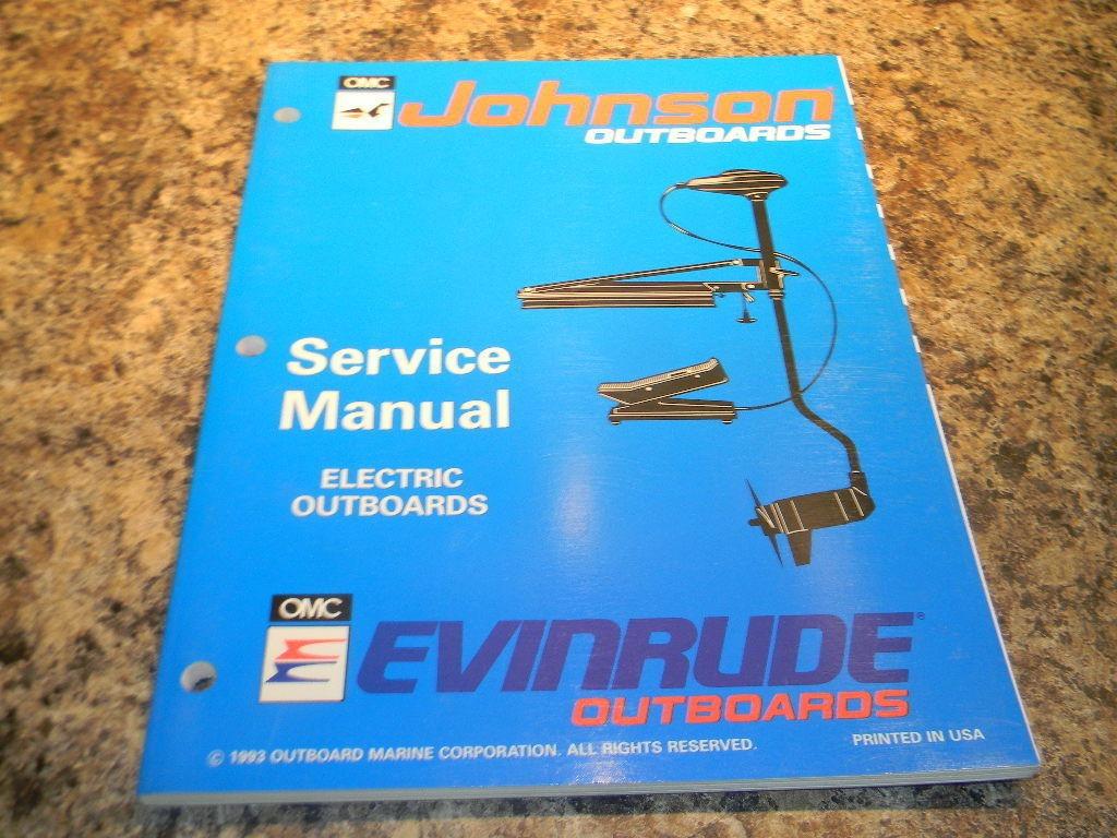 johnson evinrude omc er electric outboards service manual rh southcentraloutboards com Evinrude Manufacturer Old Evinrude Outboard Motors Identification