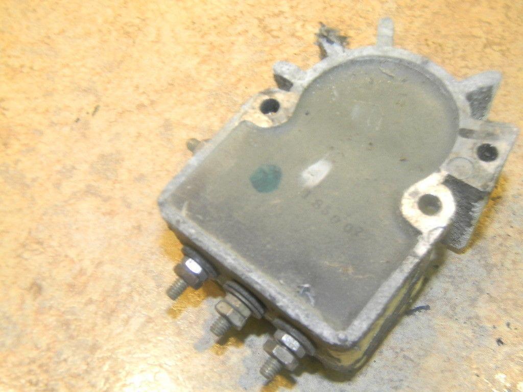 1972 chrysler 85 hp voltage regulator 857hd   ebay 1972 chrysler marine 85 wiring