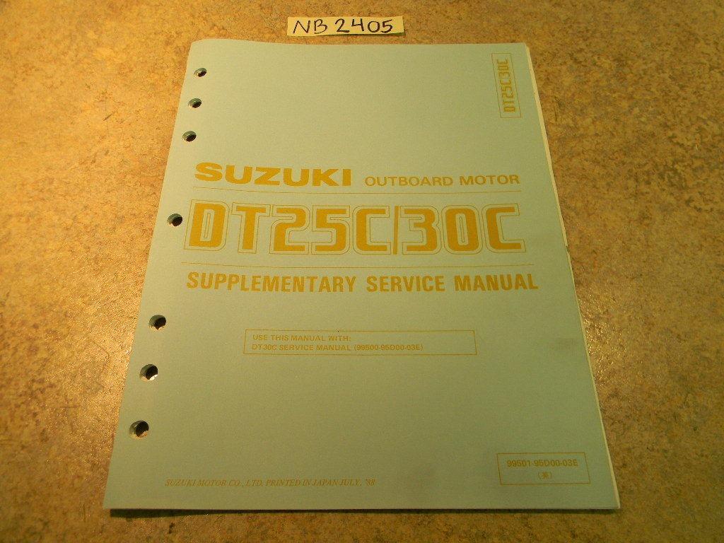 suzuki dt 30 service manual