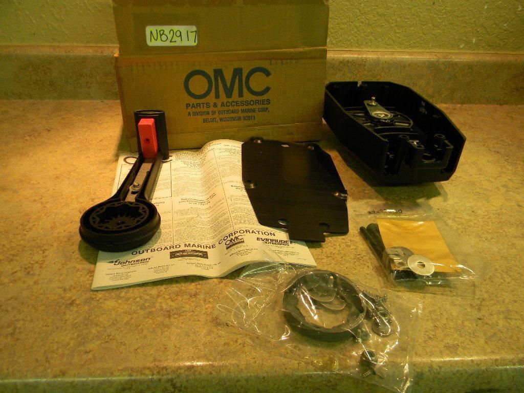 Omc Single Lever Control : New johnson evinrude single lever control assy surface