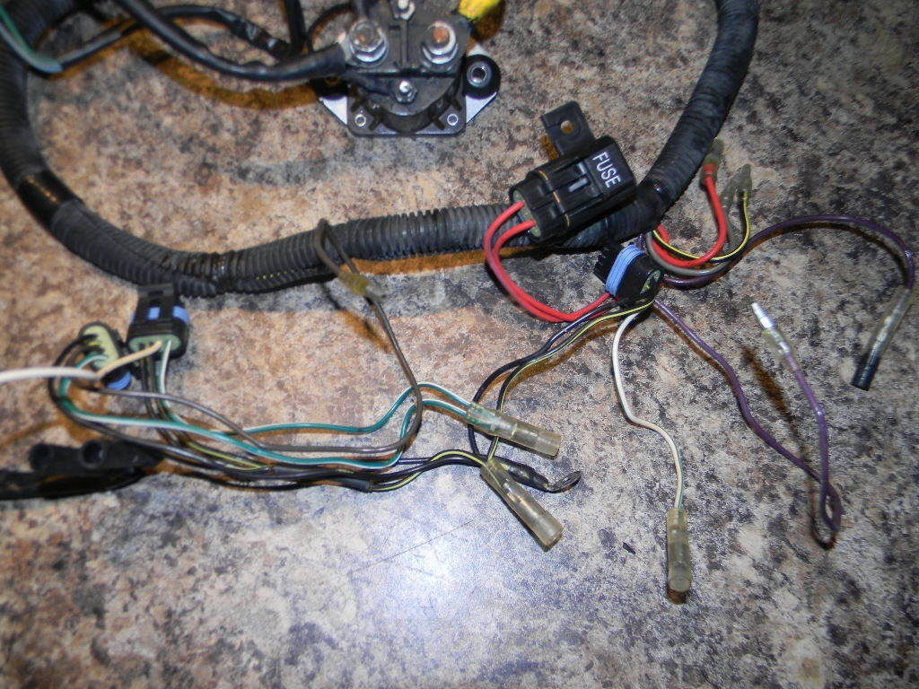 1996 1999 force wiring harness 828296a1 40 50 hp 2 cylinder southcentral outboards. Black Bedroom Furniture Sets. Home Design Ideas