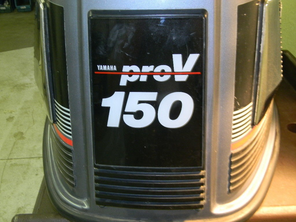 Yamaha 150 Hp Pro V Hood Cowl Cowling Cover From A 1988