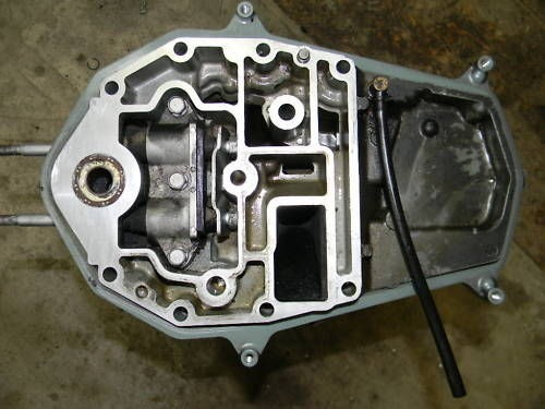 Yamaha midsection exhaust housing 2001 04 50 hp 4 stroke y for Yamaha 50 hp 4 stroke parts