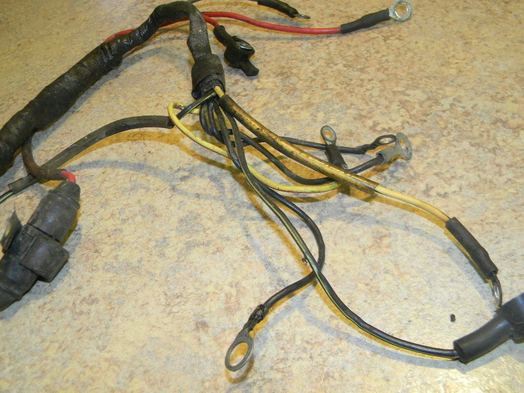 Mercury Mariner Wiring Harness Guide And Troubleshooting Of Outboard Boat 96277a2 96277a4 1980 1989 Marine