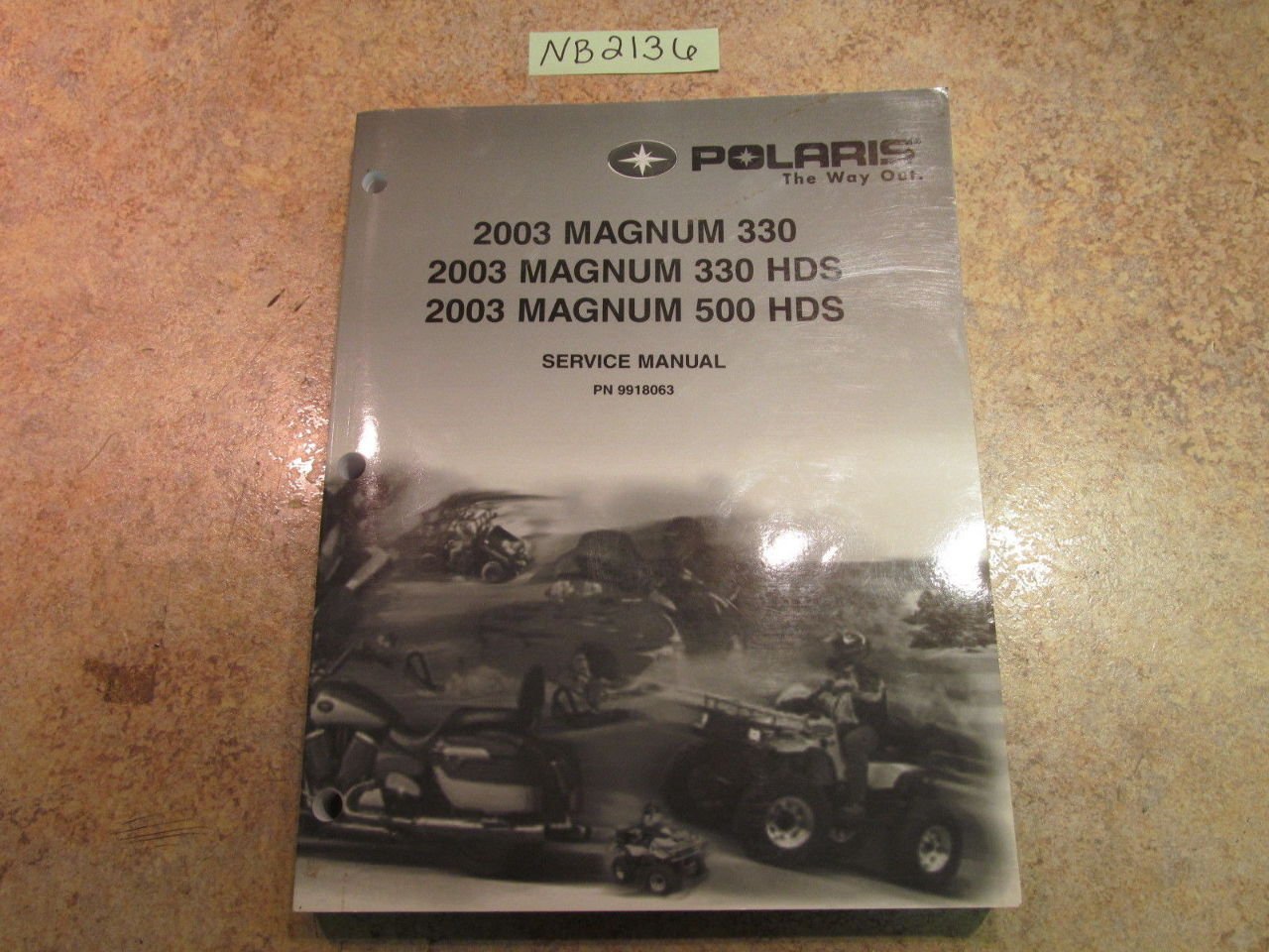 2003 polaris magnum 330 4x4 service manual