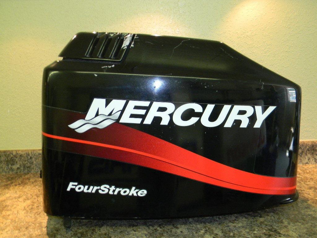 mercury hood cowl cowling cover 90 hp 4 stroke ebay. Black Bedroom Furniture Sets. Home Design Ideas