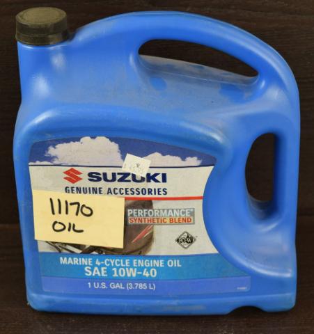 NEW Suzuki Performance Synthetic Blend 4-Cycle Marine SAE10W-40