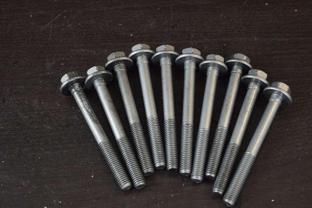 FRESHWATER! Mercury Mariner Cylinder Head Bolt Set (10) 8M0045943 150 HP 4 str