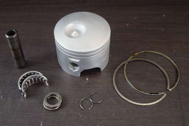 .020 OS Starboard Piston C# 100-131S 131S removed from 2011 Evinrude ETEC 150 HP