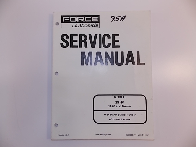 force outboard service manual pdf