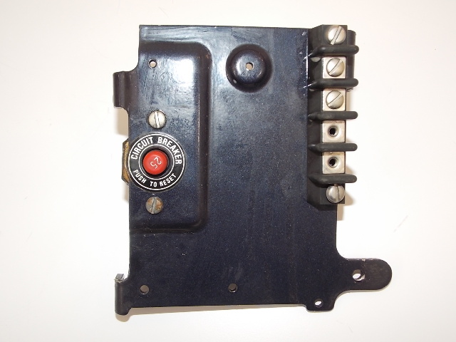Bxp Force L Drive Panel And Circuit Breaker Hp F